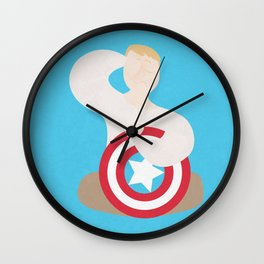 Sleepover steve Wall Clock