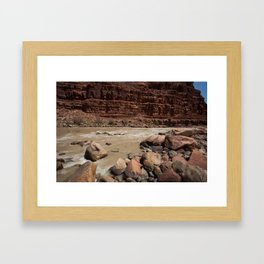 Rocky River Framed Art Print