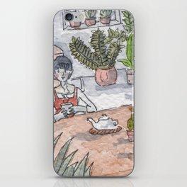 Personal Garden iPhone Skin