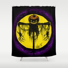 Killing Moon Shower Curtain