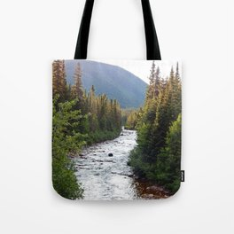 Mountain River Tote Bag
