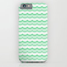 Green Waves iPhone 6s Slim Case