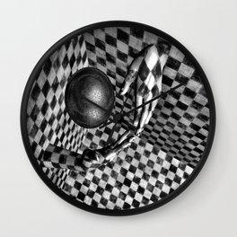 Abstract Handball 2 Wall Clock