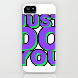 JDYW iPhone Case