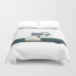 The Blues Brothers Bluesmobile 3/3 Duvet Cover