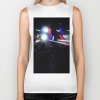 concert Biker Tanks featuring CONCERT by Eclectic House Of Art