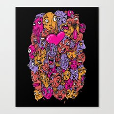 Face Melter Canvas Print