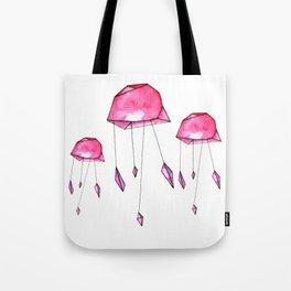Geometric jellyfish Tote Bag