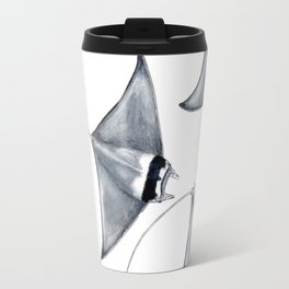 Devil fish Manta ray Mobula mobular Travel Mug
