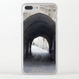 Old tunnel Clear iPhone Case