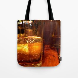 SPARKLING GOLDEN WATER Tote Bag