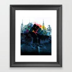 Sanctuary City Framed Art Print