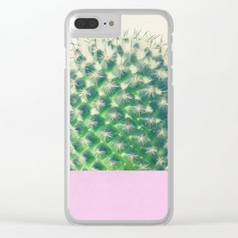 Cactus Dip II Clear iPhone Case