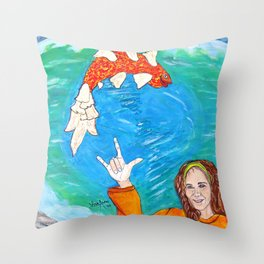 Hey Jude, this One's for You... Throw Pillow