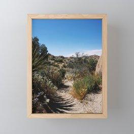 The Lushness of Joshua Tree Framed Mini Art Print