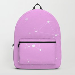 Bubblegum Pink Night Sky Backpack