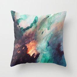 Burnin love Throw Pillow