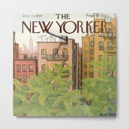 The New Yorker - 07/1954 Metal Print