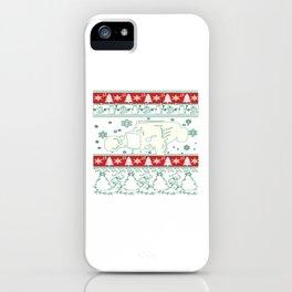 Hot rod christmas iPhone Case
