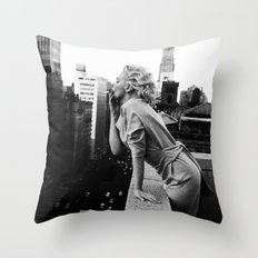 Marilyn Breath Throw Pillow