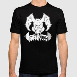 Bargoyles White Dumbbell T-shirt