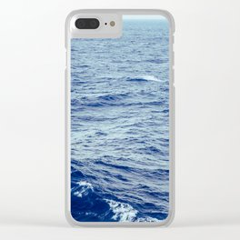 Makin' Waves Clear iPhone Case