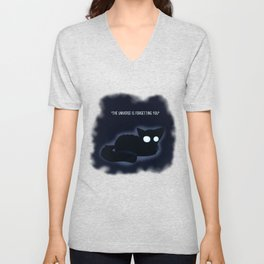 The Universe is Forgetting you Unisex V-Neck