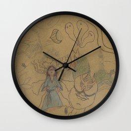 Psyché - draft Wall Clock