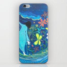 Inside of blue   Yuko Nagamori iPhone Skin