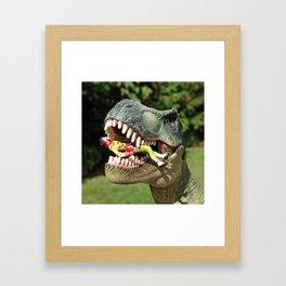Welcome to Jurassic Park Framed Art Print