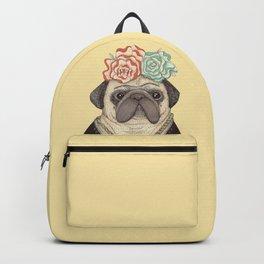 Frida Pug Kahlo Backpack