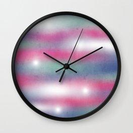 PASTEL LIGHTS Wall Clock