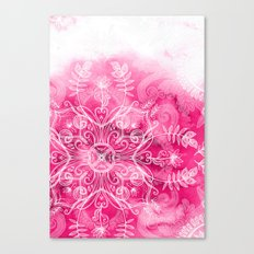 Pink + Patterns Canvas Print