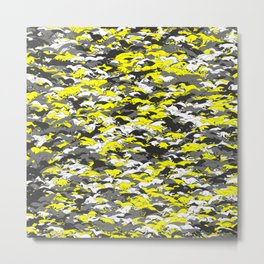 Whippet camouflage Metal Print