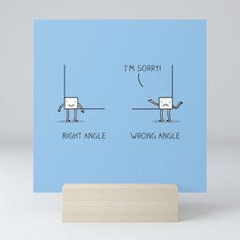 Angles Mini Art Print