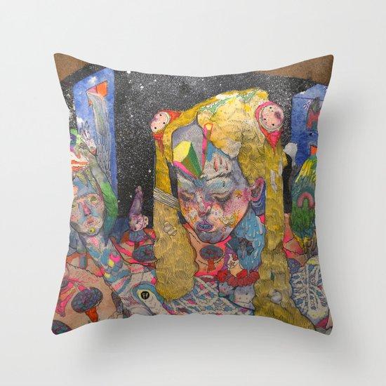 6am Throw Pillow