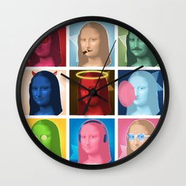 Marilyn Lisa Wall Clock