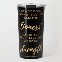 An Ember In The Ashes Travel Mug