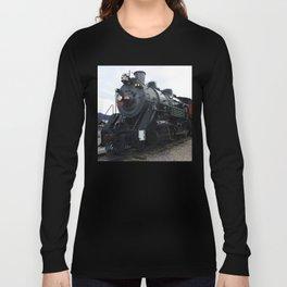 Vintage Railroad Steam Train Long Sleeve T-shirt