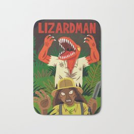 Lizardman Bath Mat