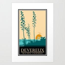 Devereux Art Print