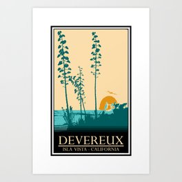 Devereux Art Print