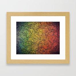 infinite desire. Framed Art Print