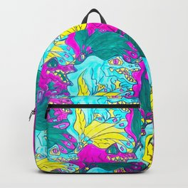 The Alligator Grins / The Peacock Weeps Backpack