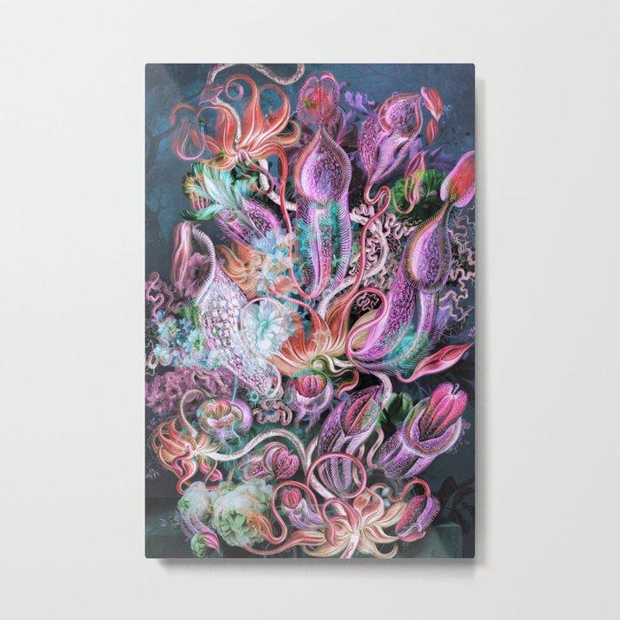 Octopus Garden Metal Print