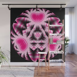 Amethyst Catacomb Abstract Wall Mural