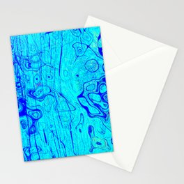 Abstract Oil on Water Stationery Cards