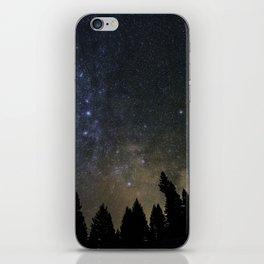 Orionids over Big Sky iPhone Skin