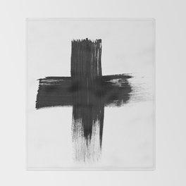 Cross Throw Blanket