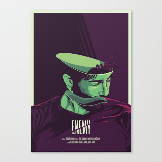 Enemy - Alternative movie poster Canvas Print